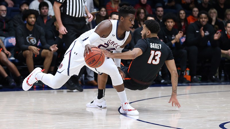 Saint Mary's Gaels Men's Basketball: A strong defensive second half helped the Gaels get past a pesky Pacific team Thursday ...